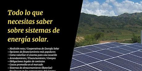 Todo lo que necesitas saber sobre sistemas de energía solar ingressos