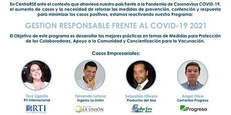 Sesión 2: Programa de Empresarialidad Responsable Frente al COVID-19 bilhetes