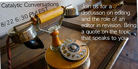 August Catalytic Conversations tickets