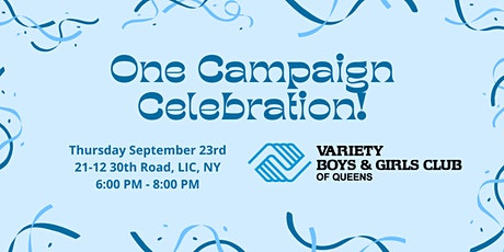 One Campaign Celebration! tickets