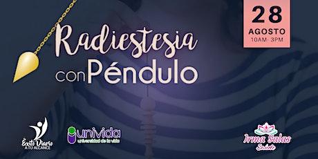 Radiestesia con Péndulo Primer Nivel entradas