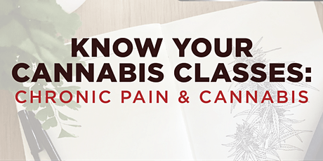 Cannabis & Chronic Pain tickets