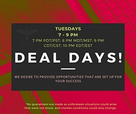 Tuesday Deal Days (WA) tickets
