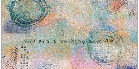 Meditative Affirmation Art Mixed Media Painting tickets