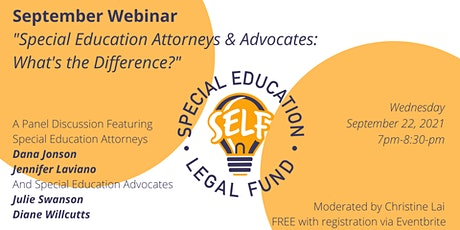 Special Education Attorneys & Advocates: What's the Difference? tickets