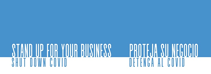 STAND UP FOR YOUR BUSINESS   SHUT DOWN COVID image