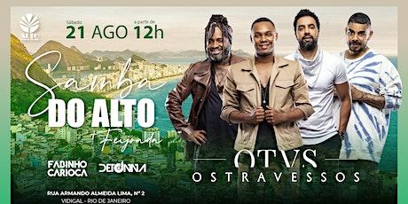 Samba do Alto + Feijoada | 21Ago21 | Os Travessos ingressos