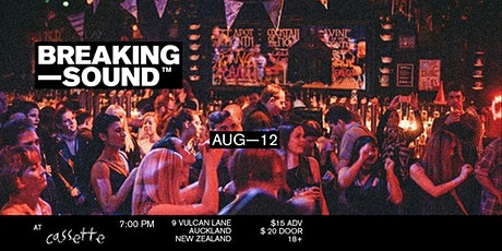 Breaking Sound NZ feat. Theo Sawyer, Will Pegg, James After George tickets