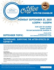 Coffee with the Counselor: Faithquake: Surviving the After-effects of COVID tickets