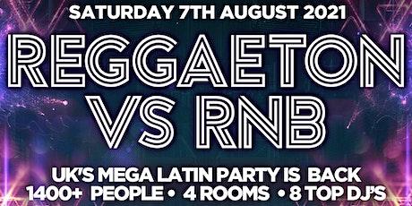 """REGGAETON VS RNB  """"THE BIG COMEBACK @ LIGHTBOX & FIRE SUPERCLUB - 7/8/21 tickets"""