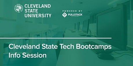 Online Info Session | Cleveland State Tech Bootcamps tickets