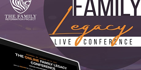 THE ONLINE FAMILY LEGACY CONFERENCE tickets
