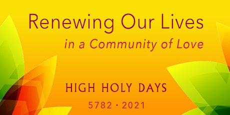 Yom Kippur 2021 - September 15-16 tickets