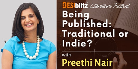 DESIblitz  Literature Festival - Being Published: Traditional  or Indie? boletos