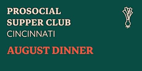 PSC Cincy - August Dinner tickets