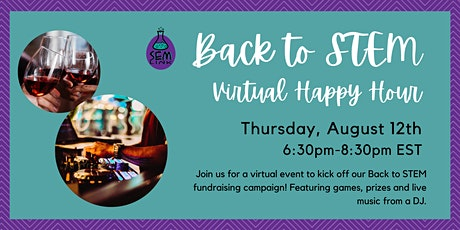Back to STEM Virtual Happy Hour tickets