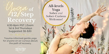 Yoga of 12-Step Recovery Meeting tickets