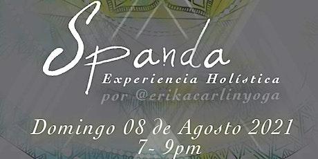 Spanda Experiencia Holística tickets