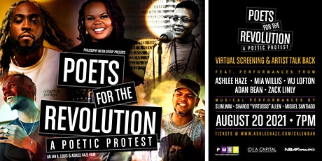 Poets for the Revolution: A Poetic Protest VIRTUAL PREMIERE tickets