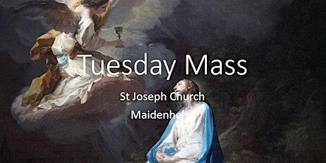 Book online: Tuesday Mass (St Joseph) tickets