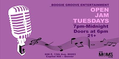 Open Jam Tuesdays  8/17