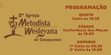 Conferência das Moças (07/08/2021) às 16:00hs ingressos