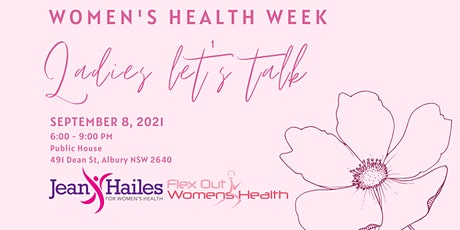 Flex out Physiotherapy  - Ladies Let's Talk for Women's Health Week tickets
