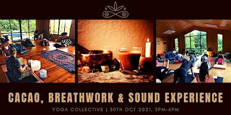 Cacao Ceremony, Breathwork & Sound Healing - Auckland tickets