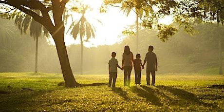 Culto com a família 9h - Lista família com 3 pessoas ingressos