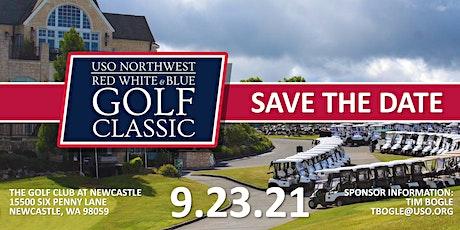 Military Golfer Waitlist--2021 USO Northwest Red, White & Blue Golf Classic tickets