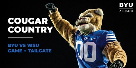 Cougar Country - BYU vs. WSU Game + Tailgate tickets