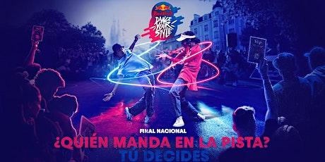 RED BULL DANCE YOUR STYLE FINAL NACIONAL VALENCIA entradas