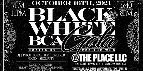 2021 All Black and White BCA GALA tickets