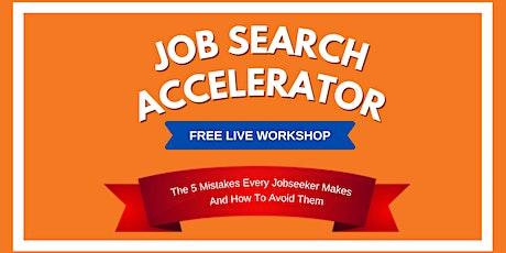 The Job Search Accelerator Workshop — Mobile  bilhetes