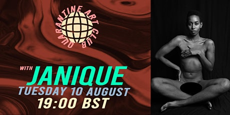 """""""THAT'S SHOW BUSINESS"""" Online Life Drawing with Janique Bailey tickets"""
