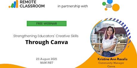 Strengthening Educators' Creative Skills Through Canva tickets
