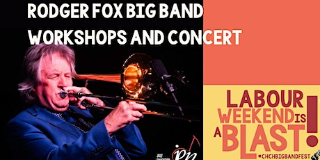 """""""Jazz on the Road"""" Rodger Fox Big Band Festival workshop and concert tickets"""