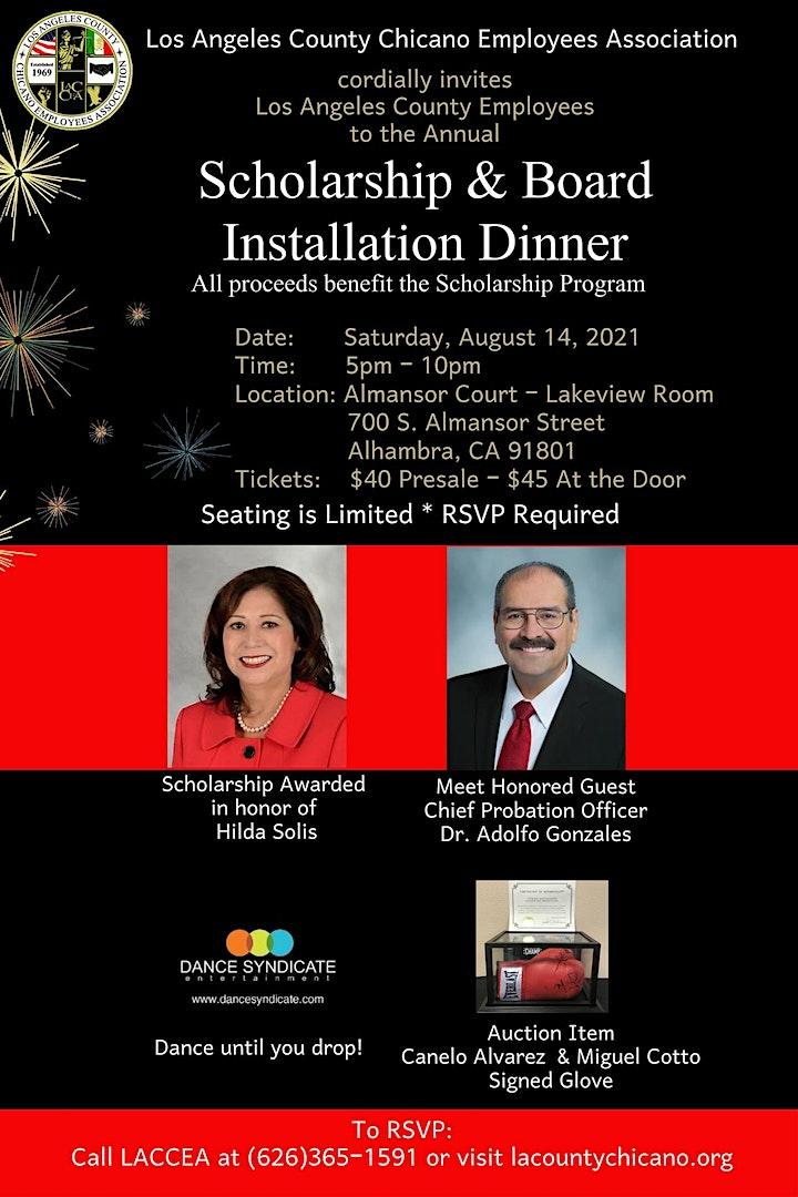 LACCEA Scholarship & Board Installation Dinner image