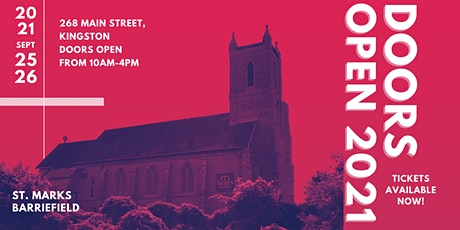 Doors Open Kingston 2021 - St. Marks Anglican Church Barriefield tickets