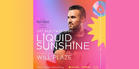 Limited Comp  Entry • Hard Rock Float Pool Party • Liquid Sunshine  • 8/7 tickets