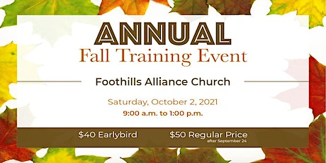 CESLM Annual Fall Training Event tickets