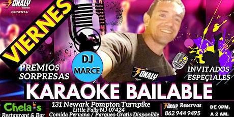 Viernes Karaoke Bailable tickets