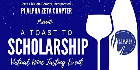 A Toast to Scholarship tickets