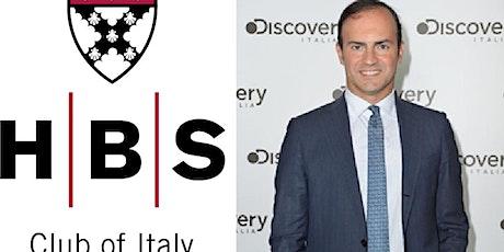 HBS Club of Italy: Meeting with Alessandro Araimo, CEO of Discovery Italia biglietti