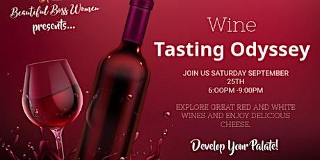 Wine Tasting Odyssey tickets