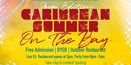 Party On The Bay @ The Bayside FREE Soca, Reggae, Dancehall, Afro-B tickets