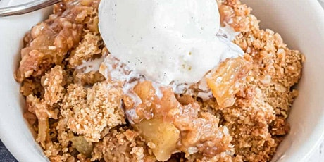UBS - Virtual Cooking Class: Baked Apple Crumble tickets
