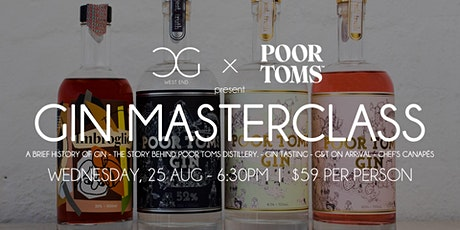 Gin Masterclass - presented by Poor Toms Distillery tickets