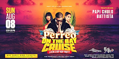 PERREO ON THE BAY SUNSET CRUISE tickets