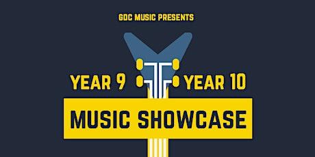 Year 9/10 Music Showcase tickets